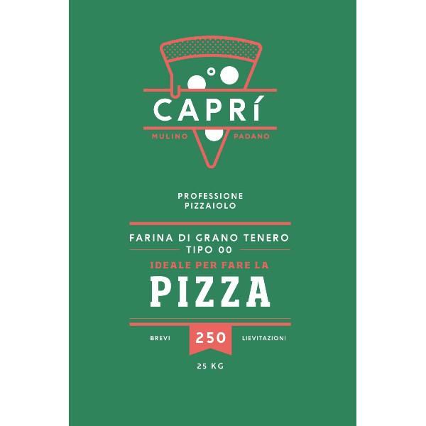 Farina per Pizza Mulino Padano Caprì 00 - 250
