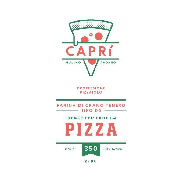 Farina per pizza Caprì 00 - 350