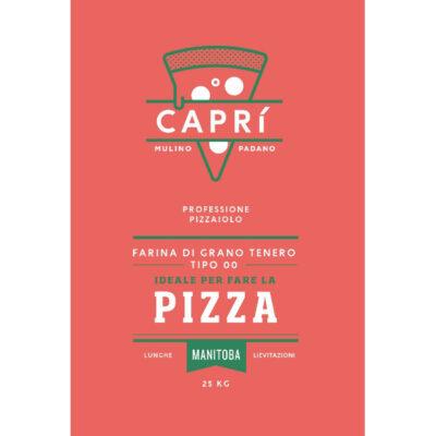 Farina per pizza CAPRI' 00 - Manitoba