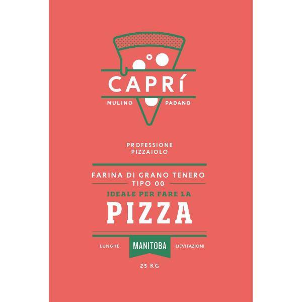 Harina para pizza CAPRI' 00 - Manitoba